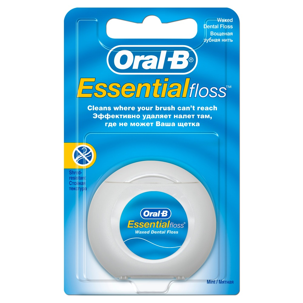 Dental floss Oral B Essential floss mint 50m waterpulse professional oral care teeth cleaner irrigator electric oral irrigator dental flosser