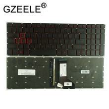 GZEELE New for Acer Aspire VX 15 VX15 VX5-591G VX5-591 VX5-793 VN7-593 VN7-793 VN7-793G Backlit Keyboard US English BLACK(China)