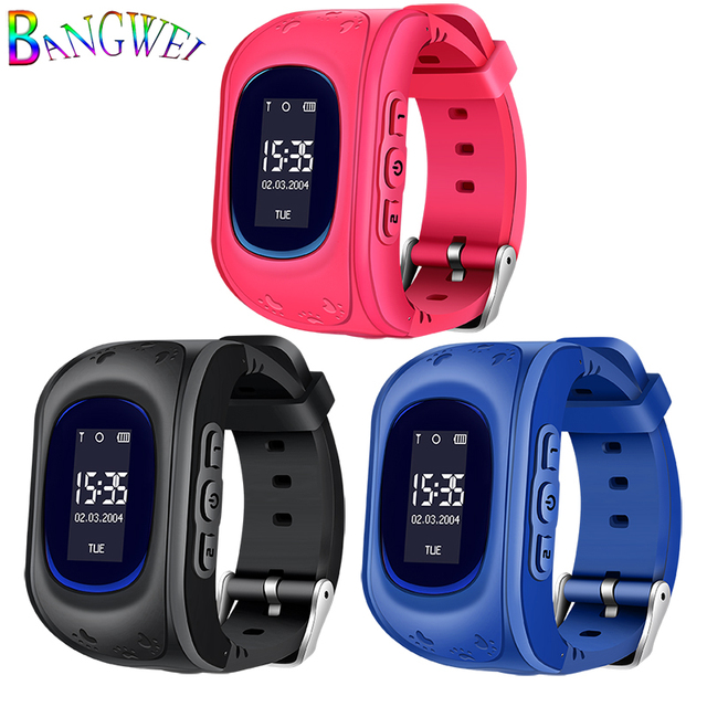 BANGWEI 2018 NEW Smart Watches Kid Sleep Information reminder LED LBS positionin