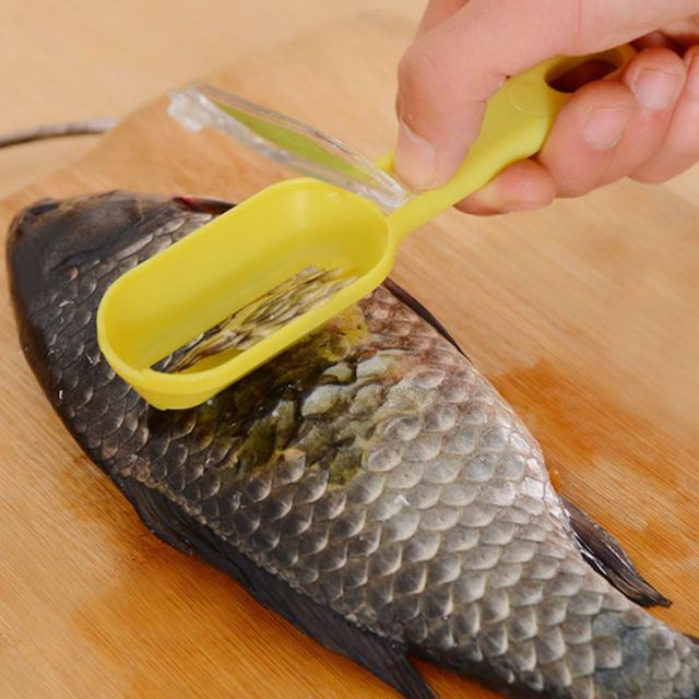 Fish Scale Remover plastic cooking utensils