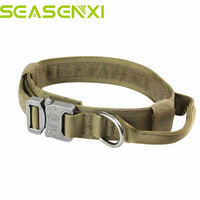 1 5 1000D Nylon Tactical Military US Army Dog Training Leash Adjustable Elastic Pet Quick Release