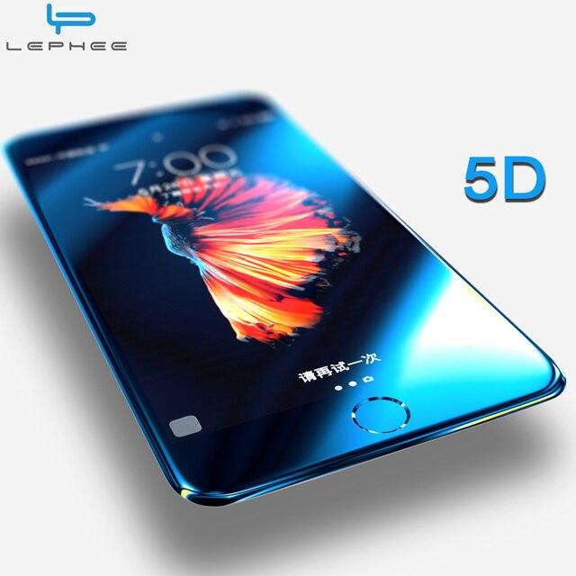 5D изогнутое для iPhone 7 Plus закаленное стекло для iPhone7 Plus iPhon7 полное покрытие экрана Защитная пленка 3D Анти-взрыв