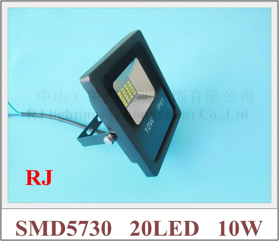 SMD 5730 LED flood light floodlight spot light lamp outdoor 10W 1000lm SMD5730 20LED (20*0.5W) AC85V-265V IP65 14cm*12cm*4cm