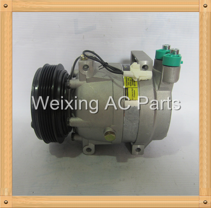 Auto air conditioning compressor V5 for Chery Tiggo Eastar clutch 5PK
