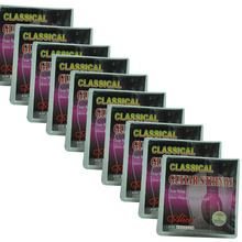 10 Sets Alice A107-N Classical Guitar Strings Normal Tension Clear Nylon 20pcs classical guitar strings nylon 3%polyester classic guitarra strings normal