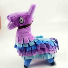18cm Game Llama Plush Figure Video Troll Stash Alpaca Rainbow Horse Phone Lanyards Stuffed Toy Gift