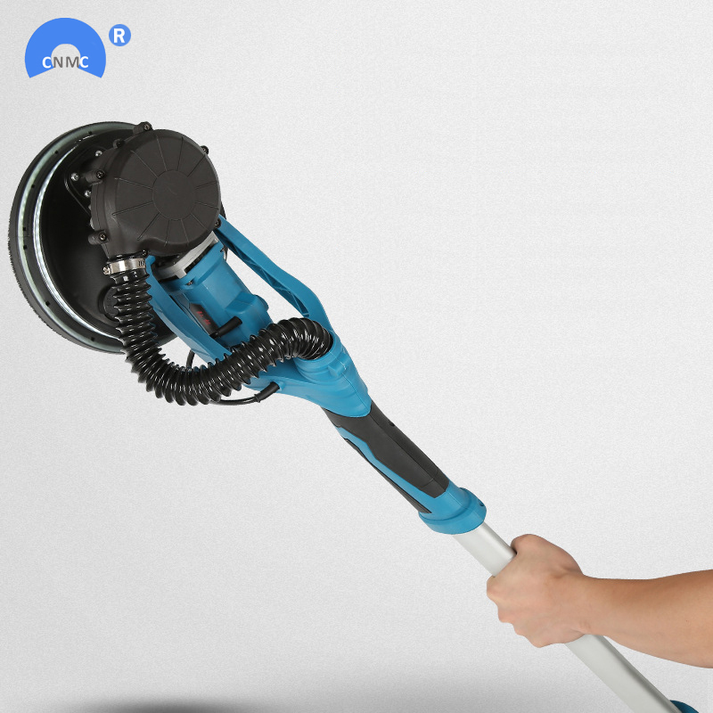 Dustless electric wall putty polisher machine with light handheld 220V for home decorationDustless electric wall putty polisher machine with light handheld 220V for home decoration