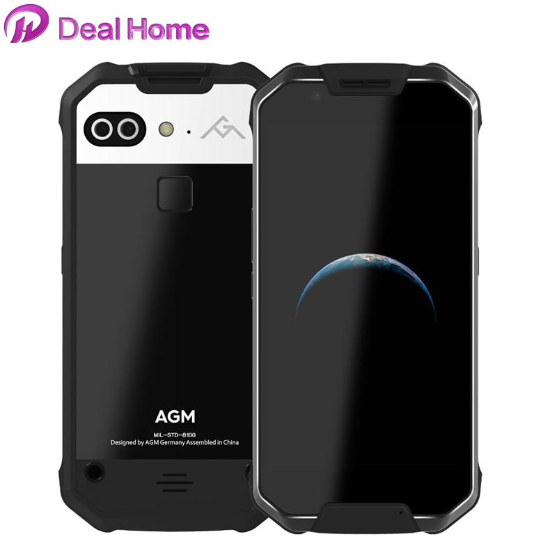 Téléphone portable étanche d'origine AGM X2 SE IP68 6000 mAh 5.5
