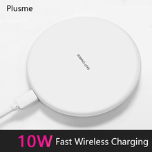 10W Fast Wireless Charger For iPhone 67plus X 8Plus Receiver USB for Samsung Galaxy S6 S7 S8 S9 Plus Note 8 LG Charging Wireless стоимость