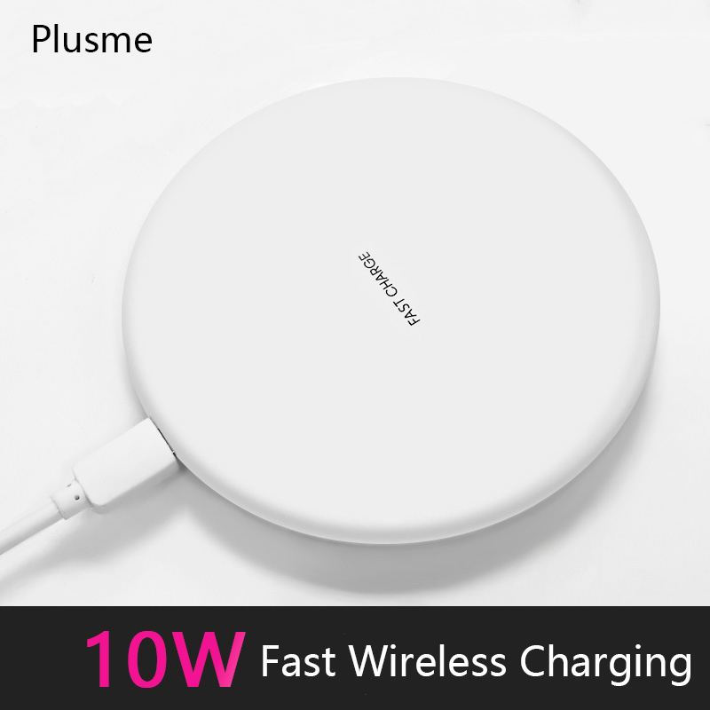 10W Fast Wireless Charger For iPhone 67plus X 8Plus Receiver USB for Samsung Galaxy S6 S7 S8 S9 Plus Note 8 LG Charging Wireless