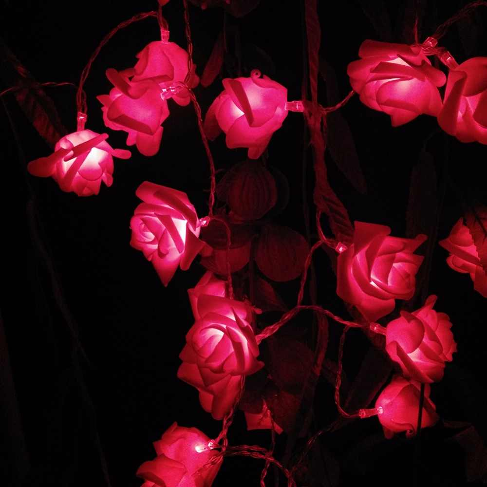 10 М 100 300leds IP44 Многоцветный LED String Огни День святого валентина Праздник Огней Свадьба Украшения Светильников 110 В 220 В США ЕС