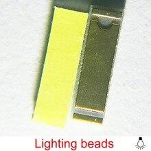 20PCS 1860 csp flip chip 9V 15W LED Automobile lamp beads h1 h4 h8 h9 h27 9005 9006 hb3 hb4 tx1860 chip 5500k 6000k
