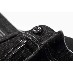 Image 4 - Enjeolon 2020 Nieuwe Heren Jeans Merk Zwarte Jeans Mannen Mode Lange Broek Heren Denim Jeans Broek Kleding Plus Size KZ6141