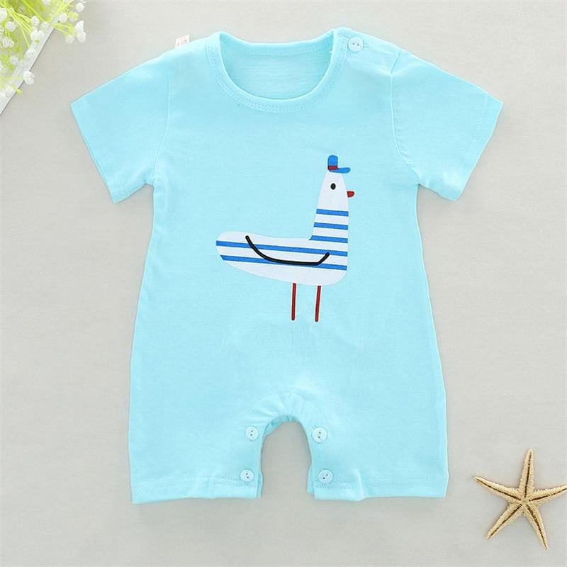 Lovin becia бренд новорожденных Комбинезоны для малышек Детские Обувь для девочек Обувь для мальчиков комбинезон с короткими рукавами хлопок му...