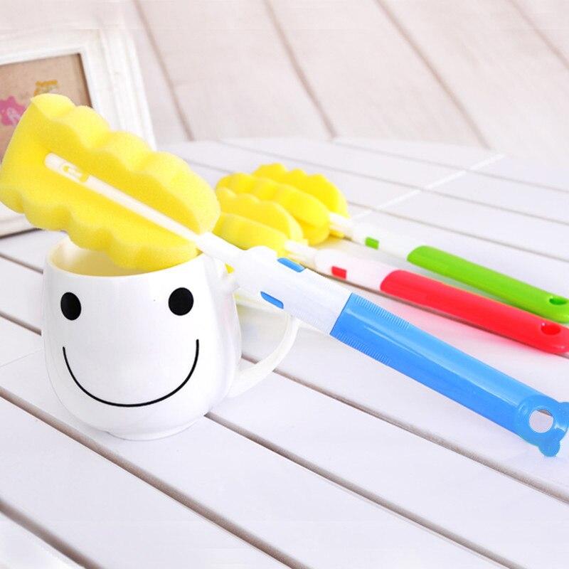 10 Unids Mano girando el cepillo de limpieza, cepillo de limpieza de taza de vac