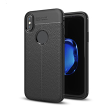 RYKKZ Litchi strips silicone case for iphone 5 5s SE skal for iphone 6 6s 7  8 plus X fc2fb71006748