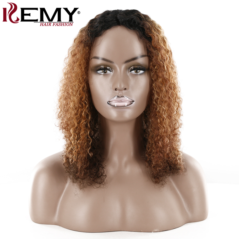 Afro Kinky Curly U Part Wig For Black Women KEMY HAIR Soft Super Brazilian Remy Long