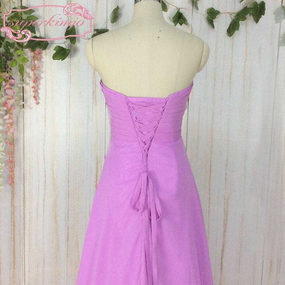 Fantástico Más El Tamaño Púrpura Vestidos De Fiesta Regalo ...
