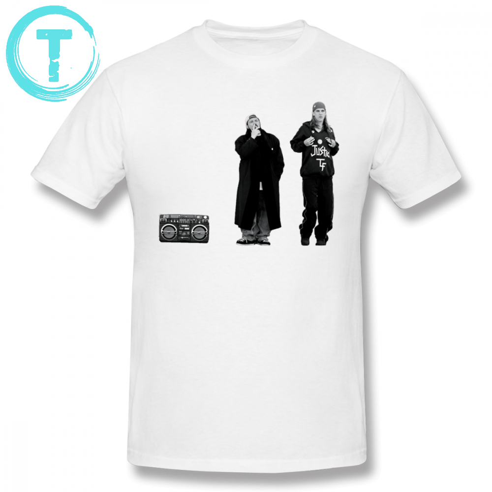 Dogma T Shirt Jay And Silent Bob At The Quick Stop T-Shirt Cotton Summer Tee Shirt Awesome Short Sleeve 6xl Men Graphic Tshirt