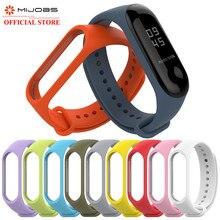 Для mi Band 4 3 браслет спортивный ремешок часы силиконовый ремешок для xiaomi mi band 3 4 аксессуары браслет mi band 4 3 ремешок