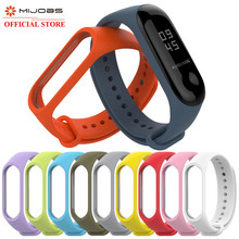 Mi Band 3 Bracelet Sport Strap watch Silicone wrist strap For xiaomi mi band accessories bracelet for Xiaomi Miband