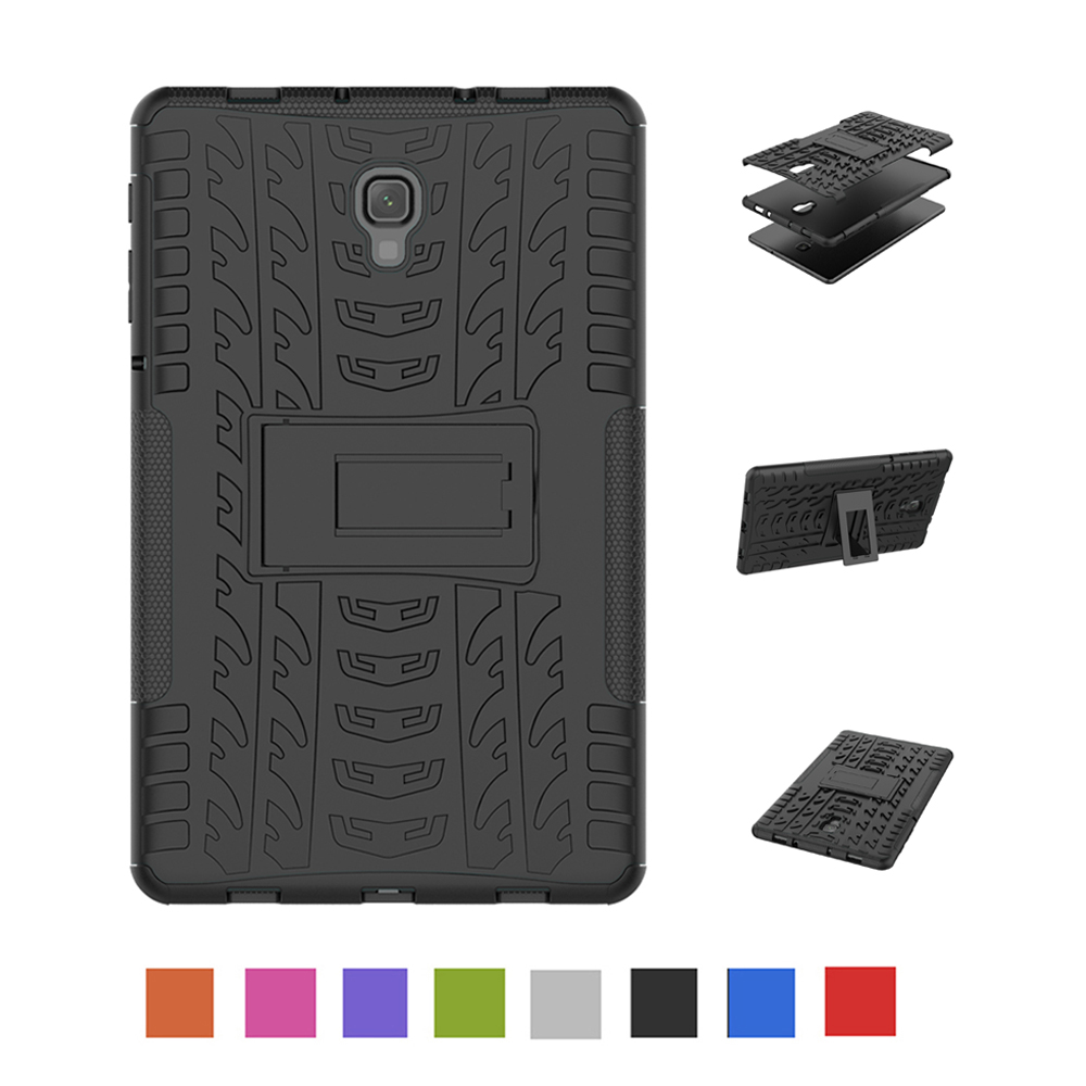 Case For Samsung Galaxy Tab A A2 10.5 2018 T590 T595 Shockproof Armor Hard PC With Silicon Tablets Books Case Cover Shell