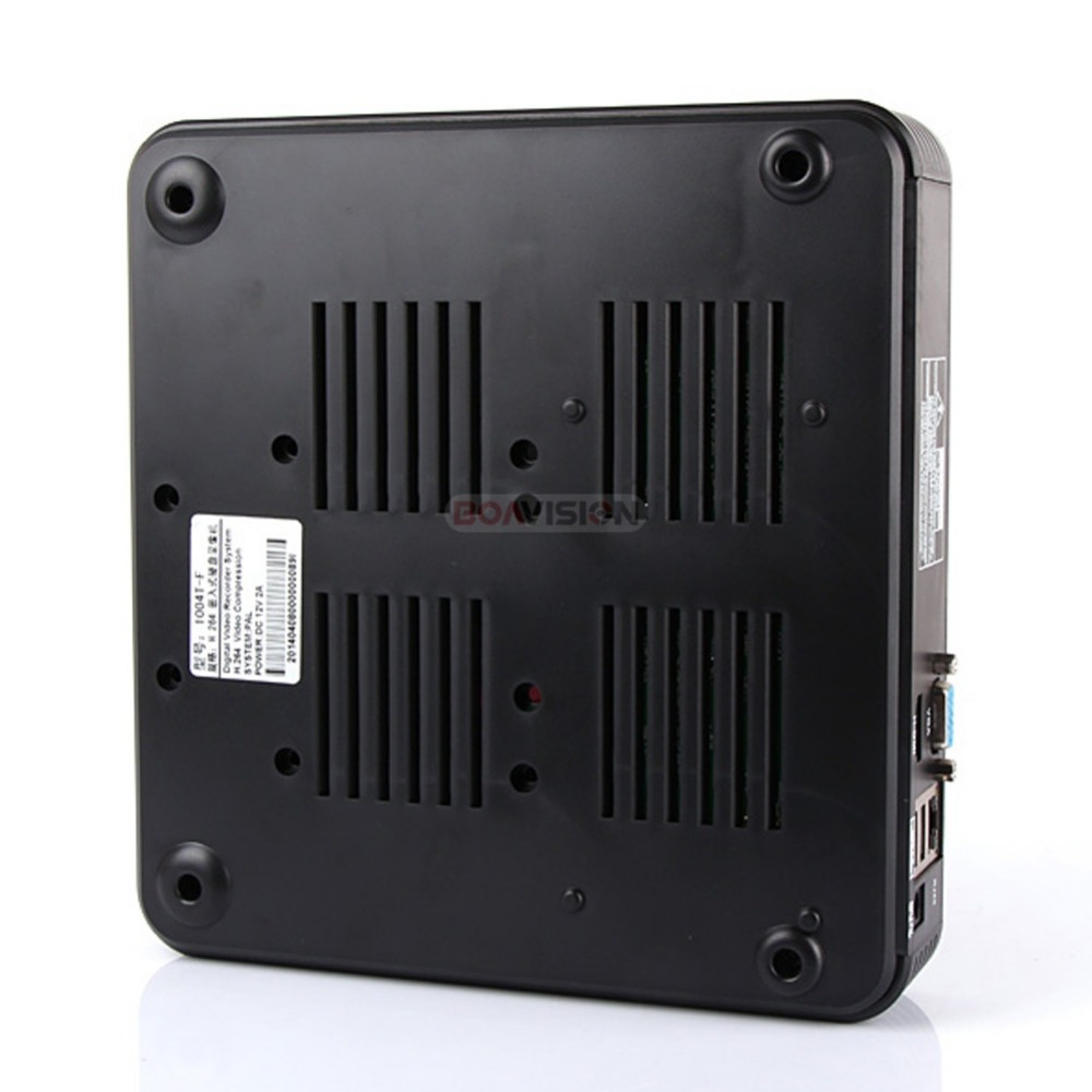 BOAVISION H.264 4Ch Mini NVR CCTV red grabadora de vídeo Digital 1080 P ONVIF HDMI salida P2P nube ver - 5