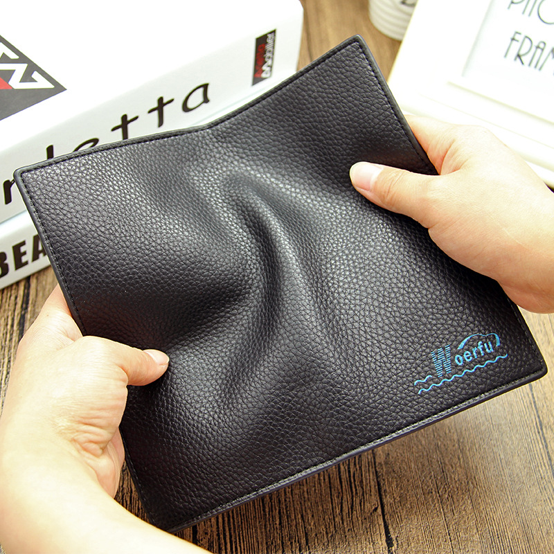 Hot sale! 2016 Famous Brand Men's PU Leather Long Wallet Money Handbag, Soft Cow Leather Ultra-thin Coin Bag Purse lan men s wallet ultra thin cow leather long wallet designed simple wallet