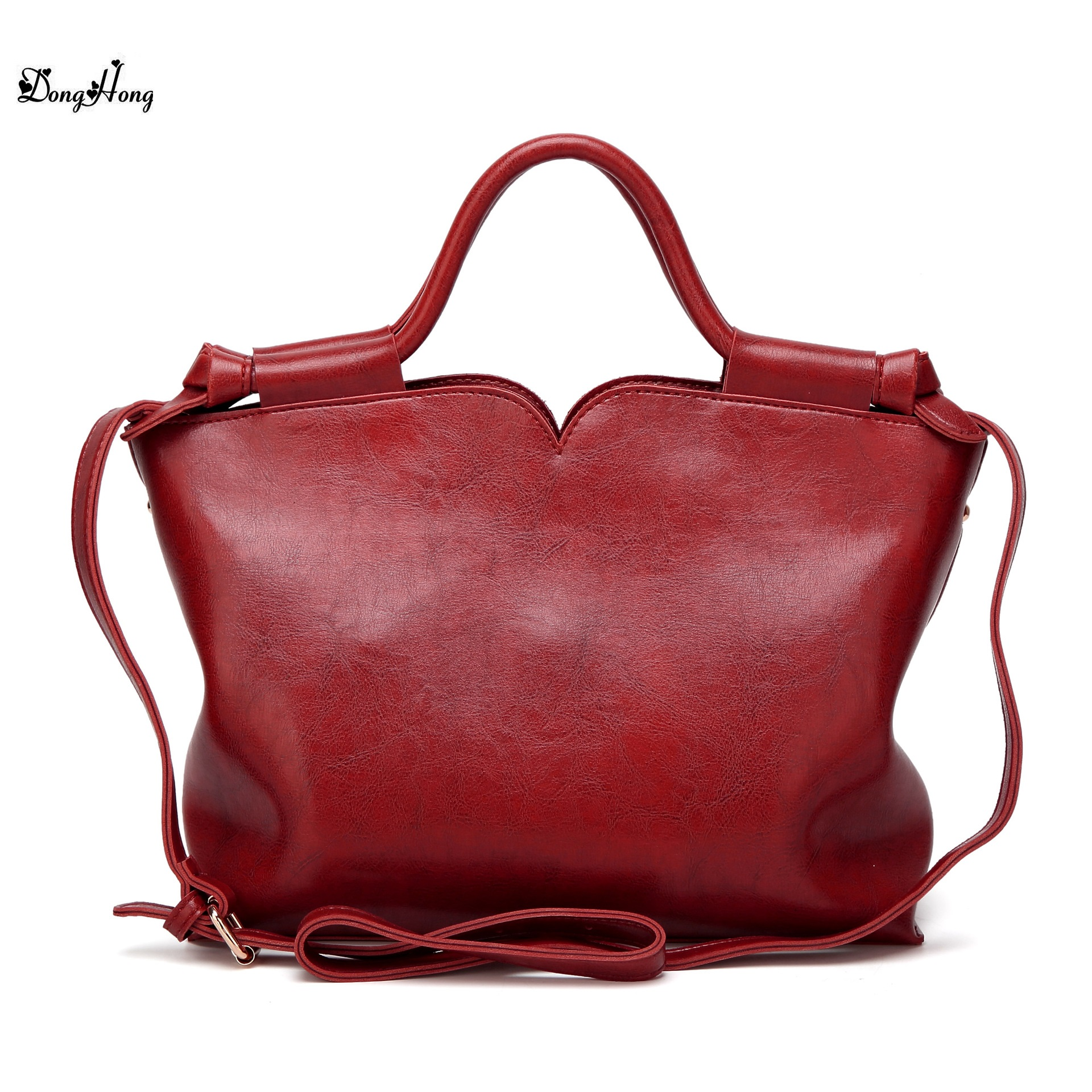 Real Cow Leather Ladies HandBags Women Genuine Leather bags Totes Messenger Bags Hign Quality Designer Luxury Brand Bag donghong real cow leather ladies hand bags women genuine leather handbag shoulder bag hign quality designer luxury brand bag