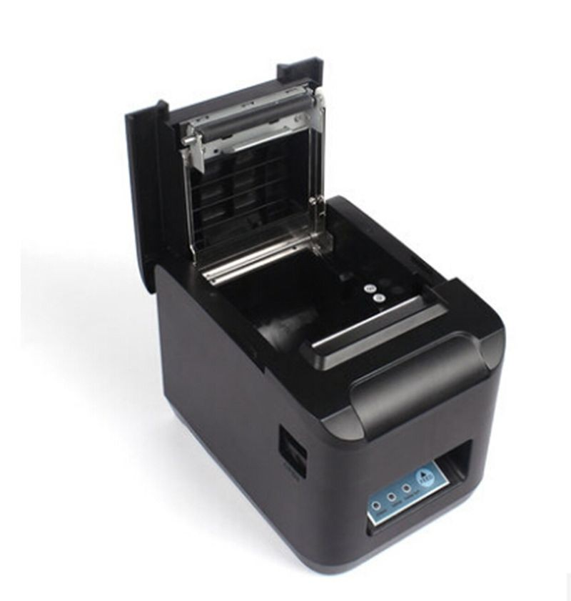 High Speed 260mm/s POS Thermal Receipt Printer 80mm Auto Cutter USB/Ethernet_DHL 300 mm s print speed black 80mm pos thermal receipt printer auto cutter cut windows2000 xp vista 8 10 linux usb ethernet