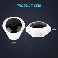 Hot Sale Mini Ceiling Mounting 1 3MP 960P HD V380 Panoramic Camera Wifi VR 360 Wireless