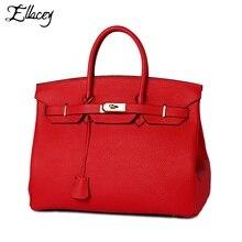 2016 berühmte Marke Aus Echtem Leder-einkaufstasche Mode Frauen Handtaschen Dame Schulter Weiblichen Beutel Muster Leder Platin Killertasche