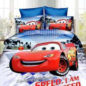 new Lightning McQueen Cars bed