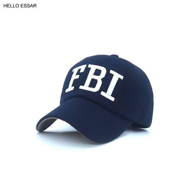 Nuovo Berretto Da Baseball Cap Cappello Uomo Donna FBI aletter ombra Sport  All aperto marca 8d6a6f420e2a