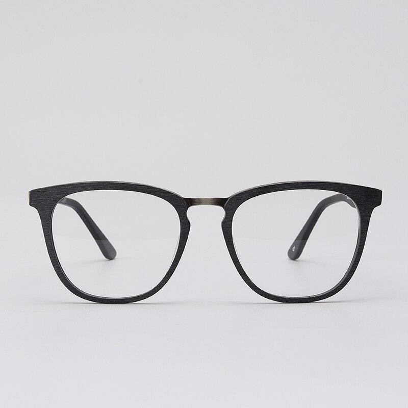 40a7682a6 acetato armação de oculos de grau masculino quadrada Nerd Geek decoração  retro transparente clara na moda do vintage óculos sem grau # M3791 em Armações  de ...