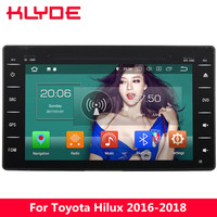 KLYDE 8 4G WIFI Android 8.0 Octa Core 4GB RAM 32GB ROM Car DVD Multimedia Player Radio Stereo For Toyota Hilux 2016 2017 2018