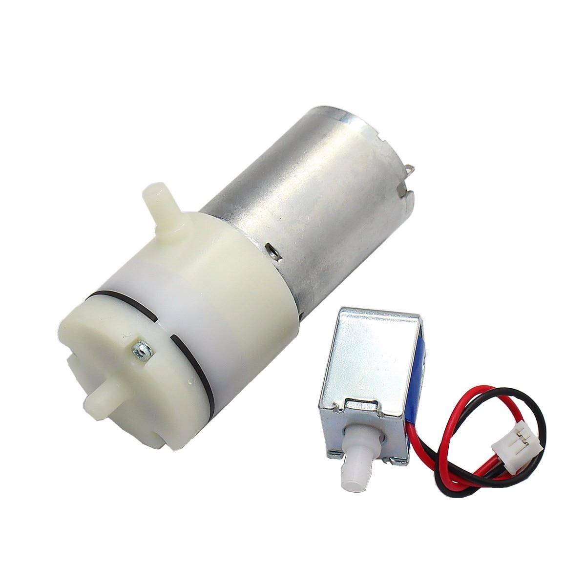 Dc 3,7 V Vakuum Mikroluftpumpe Mit 5 V Magnetventil Neue Pumpen, Teile Und Zubehör Sanitär