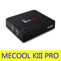 Free Shipping MECOOL KIII PRO TV Box Amlogic S912 S2 T2 DVB Octa Core Smart Android