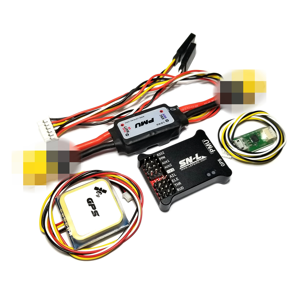 AFPV SN-L Owl FPV Flight Controller HD OSD With PMU M8 GPS Module For RC Airplane Fixed-Wing Model