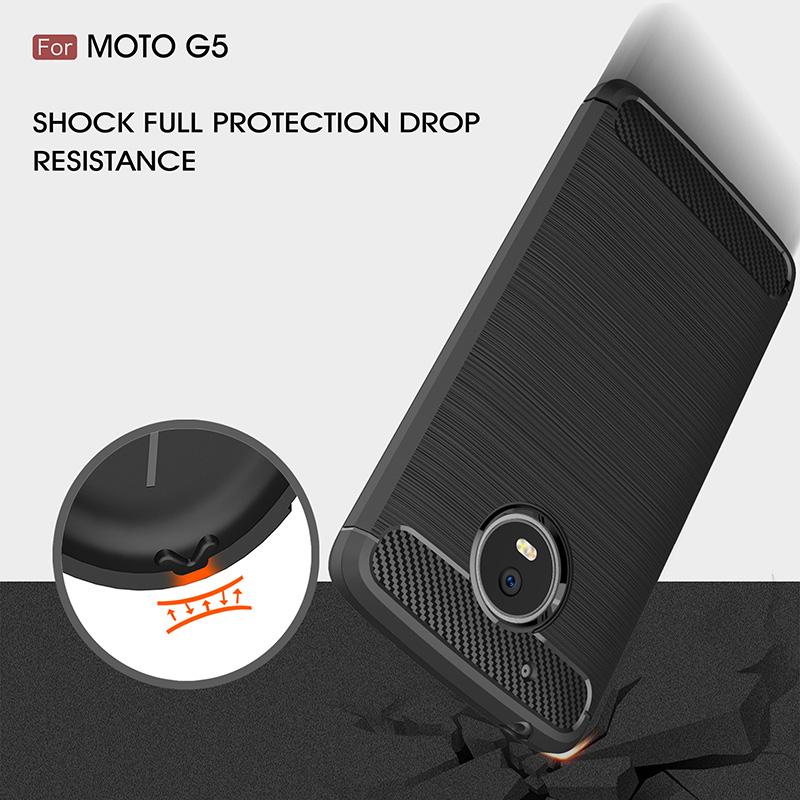 carbon fiber tpu case moto g5 (5)
