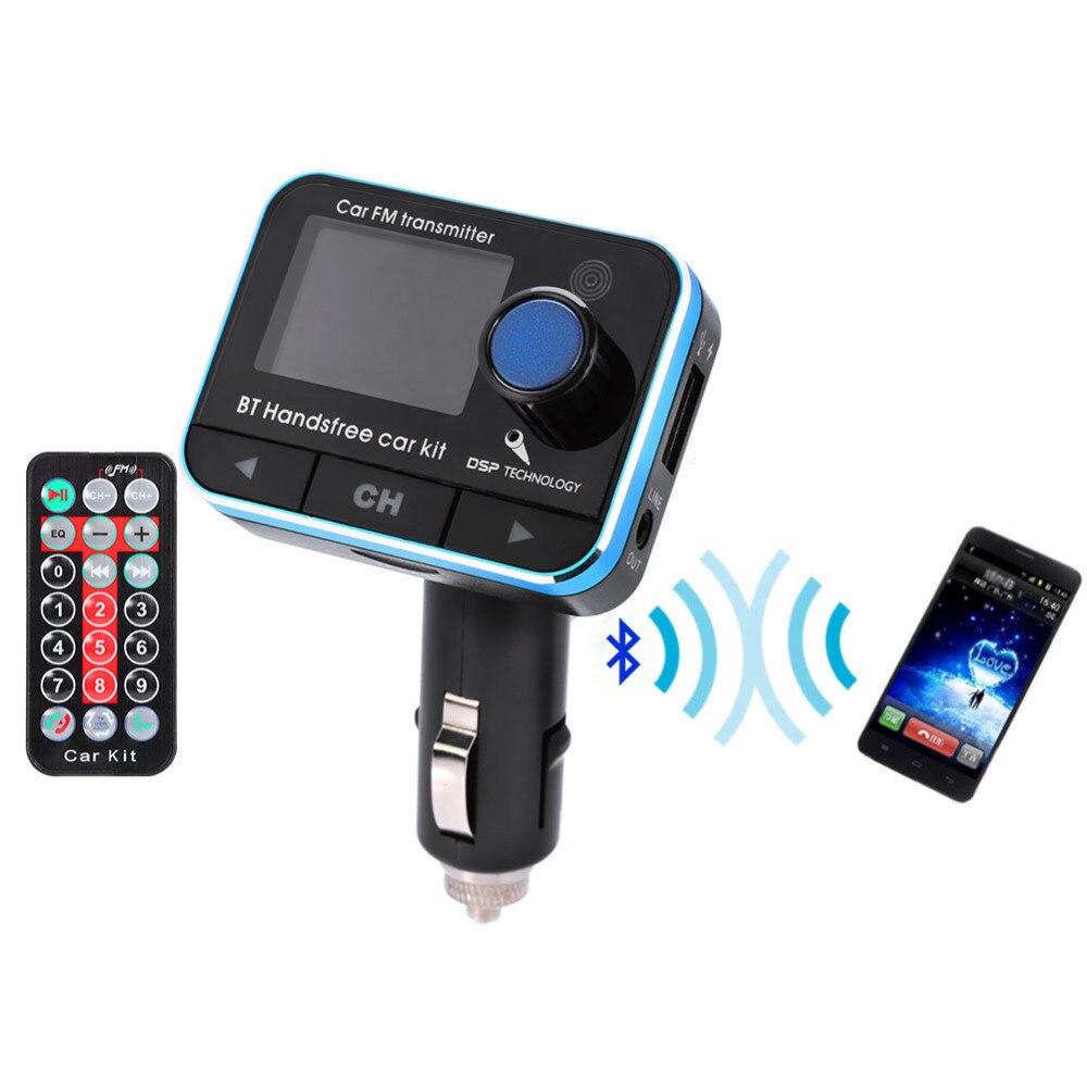 Auto Drahtlose Bluetooth Fm Transmitter Freisprecheinrichtung Tf Aux Usb Musik-player Kit Hoher Standard In QualitäT Und Hygiene Unterhaltungselektronik