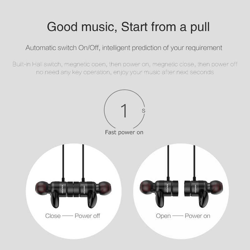 AWEI A920BLS Bluetooth наушники беспроводные басовые наушники спортивные Bluetooth гарнитура Auriculares беспроводные наушники Casque 10h музыка
