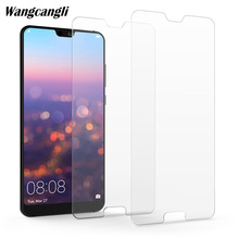 2Pcs Tempered Glass for Huawei p20 lite glass on Screen Protector Phone Film