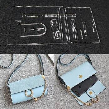 Laser cut Acryl Vorlage Muster Für DIY Handgemachte Einzel Schulter ...
