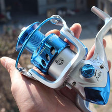 POINT BREAK DQ2000-6000 Spinning Blue Fishing Reel Distant Fishing Wheel high-quality 5.2:1 Sea Fishing Reel Fast Transport(China)