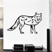 Wall Decal Animal Forest Fox Fur Beast Predator Wild Vinyl Stickers