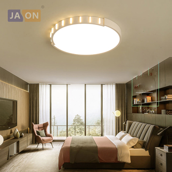LED Nordic Iron Acrylic Round Square 6cm Height White Chandelier Lighting LED Lamp LED Light For Foyer Bedroom