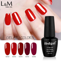 12 pcs ibdgel Nail Gel Polish Nail Art Salon Tips 120 Hot Sale Color ibdgel Gel Varnish 15ml
