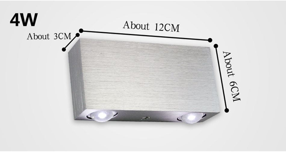 Led Wall Lamp Modern Sconce Stair Lighting Fixture Living Room Bedroom Bed Bedside Indoor Light Home Hallway Loft Irregular
