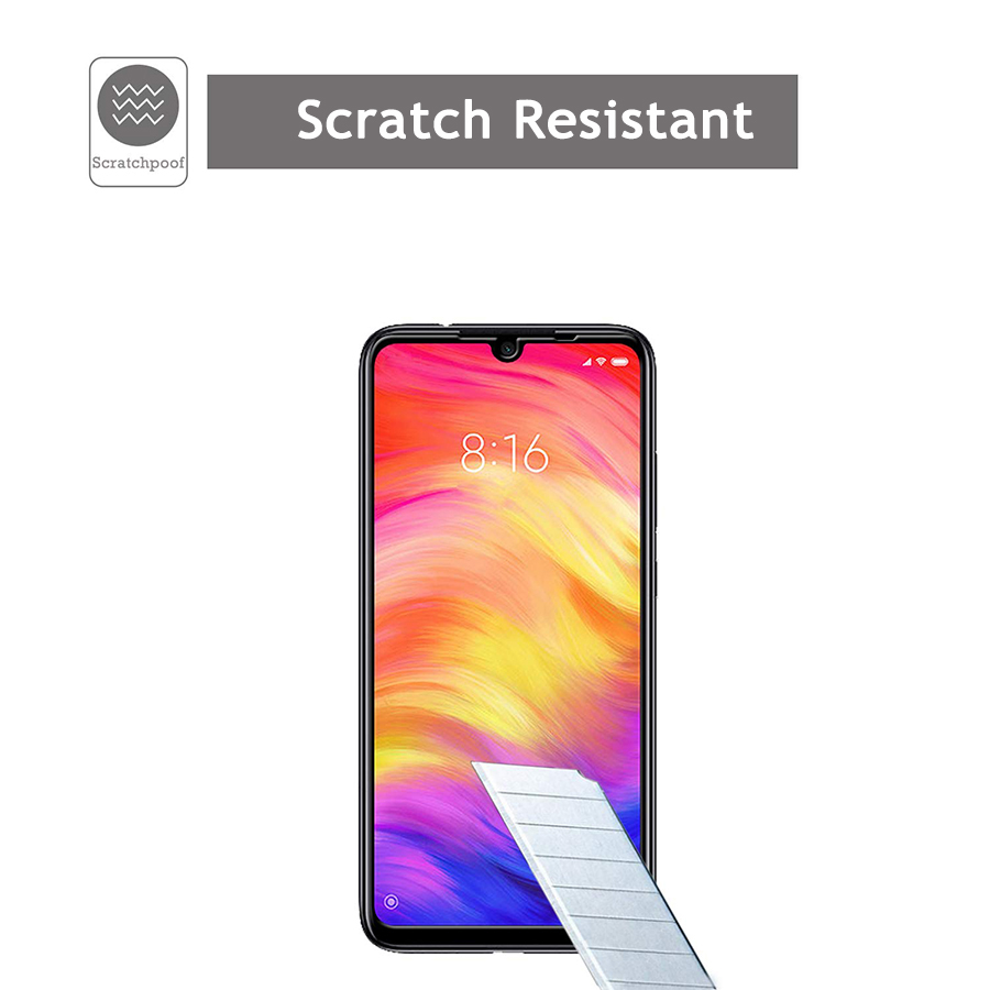 Image 4 - VALAM Tempered Glass Screen Protector For Xiaomi Redmi Note 7 Pro redmi 7 7A glass Cover Full Body Redmi 7a Note7 Pro Glass-in Phone Screen Protectors from Cellphones & Telecommunications